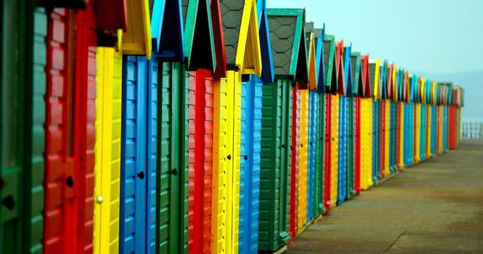 I do like to be beside the seaside by chriswhittle - The Colors Photo Contest