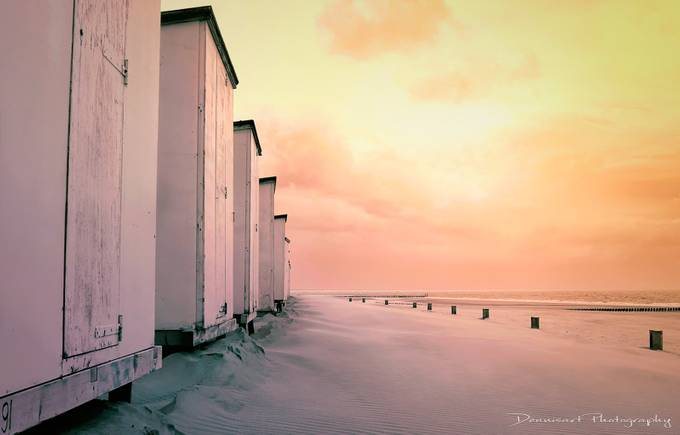 Colours on the beach by DennisartPhotography
