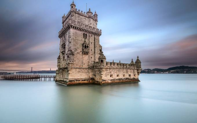 The Tower of time by remedios - Enchanted Castles Photo Contest