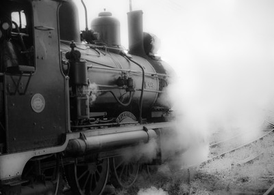 Misted Train