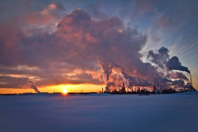 Albertan Sunset by PhotoJunkiesAB - Energy Photo Contest