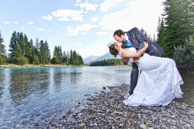 A Kiss in Canmore