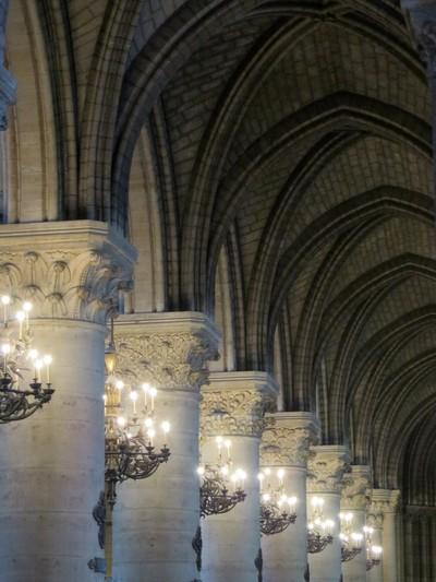 Colonnade Notre Dame de Paris - France