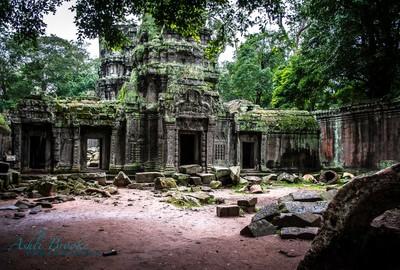 Tah Phrom Temple, Cambodia