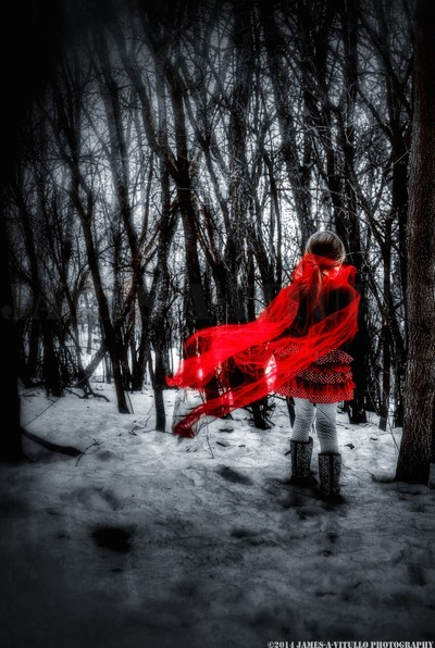 A Modern Spin on Red Riding Hood