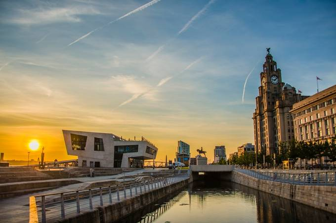 Pier Head, Liverpool by AidenOgden - Sunset In The City Photo Contest
