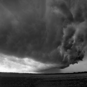 Storm over Ely - Cambridgeshire.