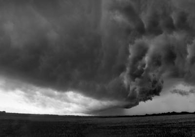 Storm over Ely - Cambridgeshire.