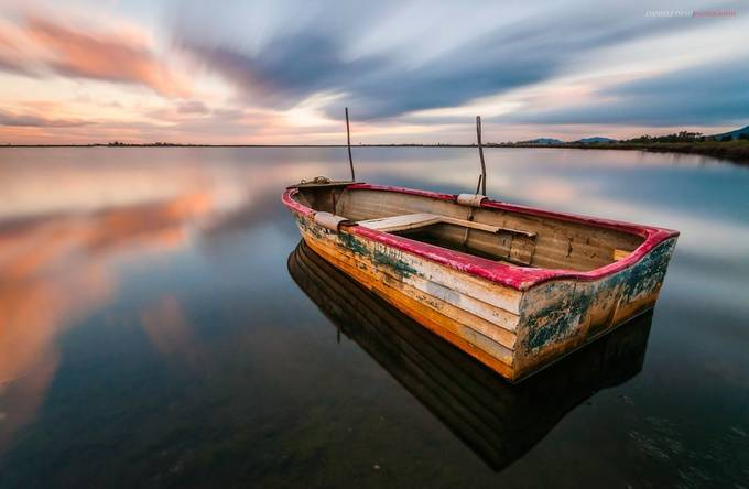 the boat by DanieleJ - The Moving Clouds Photo Contest
