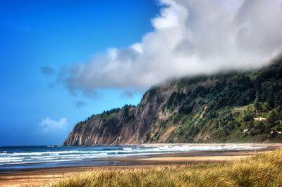 Sunny day on the Oregon coast