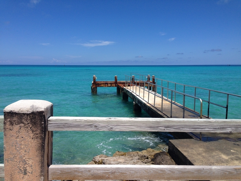 While cruising on our scooter in Bermuda, we saw this bridge and just had to stop