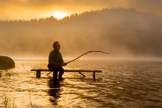 morning catch by geertweggen - My Favorite Chair Photo Contest