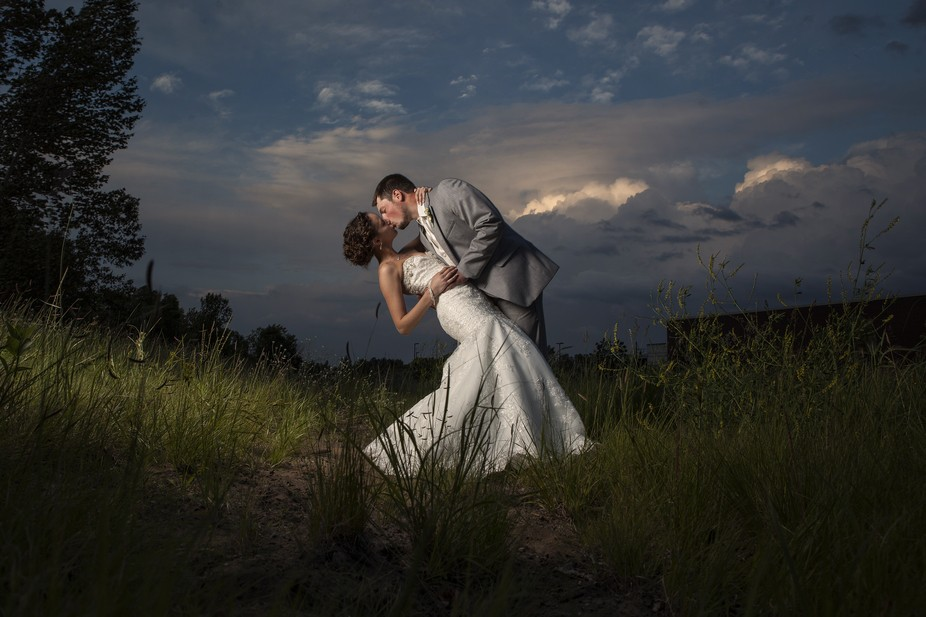 I took this photo at a recent wedding, the plan was to take this shot on the lake shore, but at t...