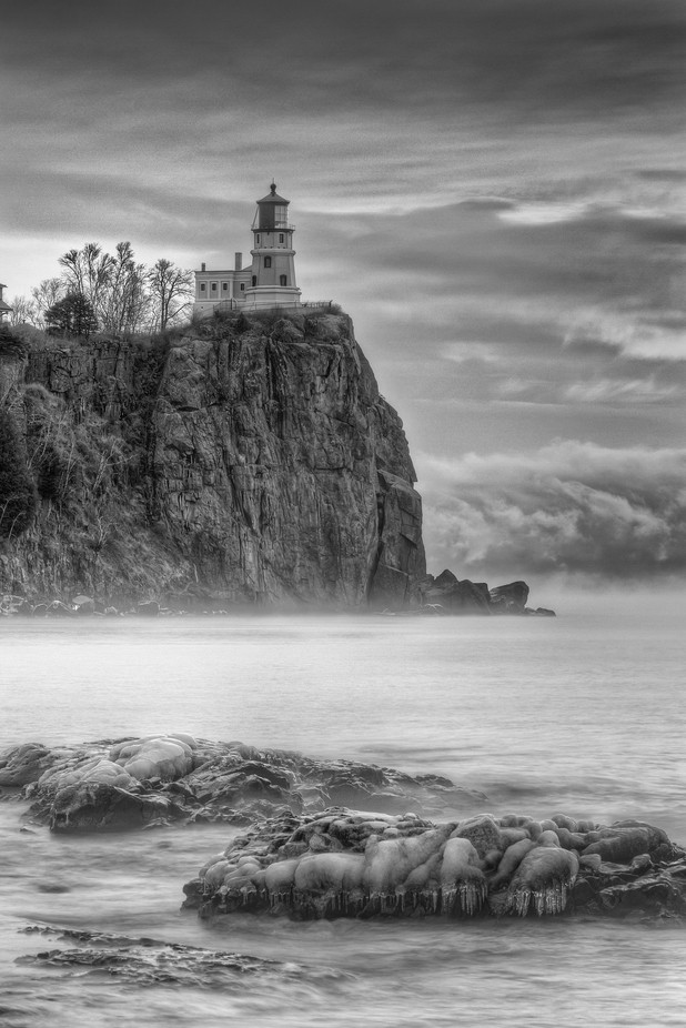 Splitrock Lighthouse by johnlatourelle - A Storm Is Coming Photo Contest