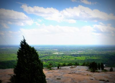 Georgia from on top of Stone Mountain