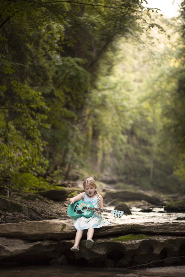 Sweet sounds of Kentucky by Lynzybrooke - Kids With Props Photo Contest