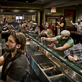 An 18 shot composite of my friend as all the stereotypes you see in bars these days. Shot at my place of employ, The Republic Pub in Farmingdale,...