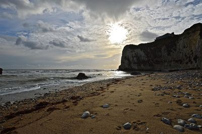 FRESHWATER BAY, ISLE OF WIGHT ,DESOLATE BEACH