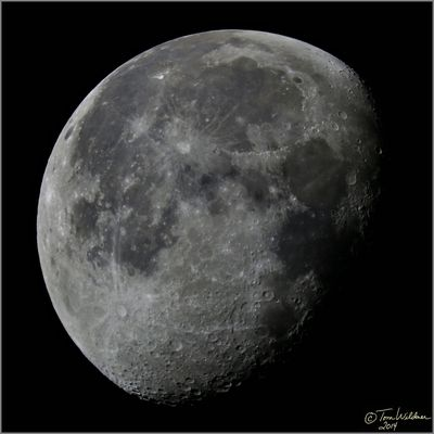 Waning Gibbous Moon August 14 2014