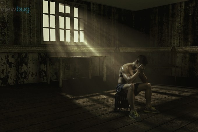 Grief by halodmc - Emerging From Shadows Photo Contest