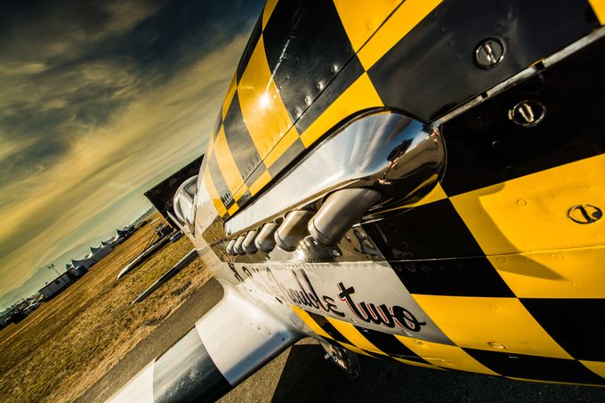 Checkerd merlin-1 by paulkendall - Aircraft Photo Contest