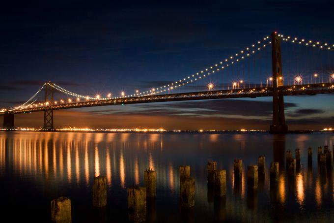 Bay Bridge by tcarpenter71 - Light On Water Photo Contest