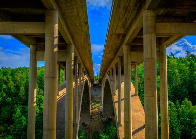 Röttle River Motorway Bridge by colinharley - Under The Bridge Photo Contest