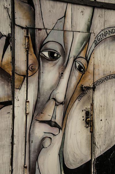 door woman
