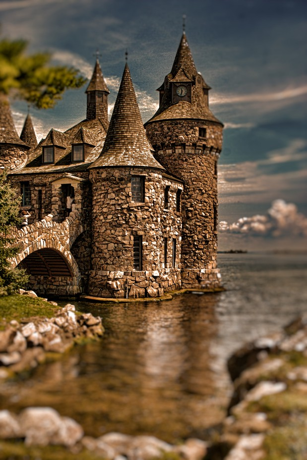 fantasy Castle by peterupmanis - Enchanted Castles Photo Contest