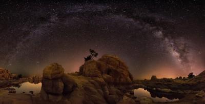 Milky Way Over Watson