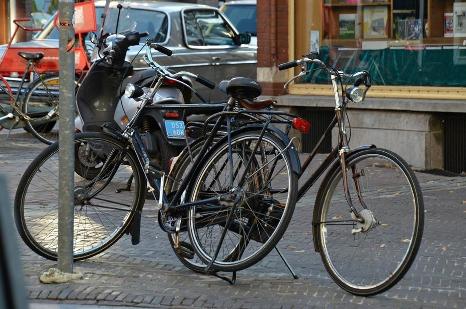 Bikes in Utrech holland