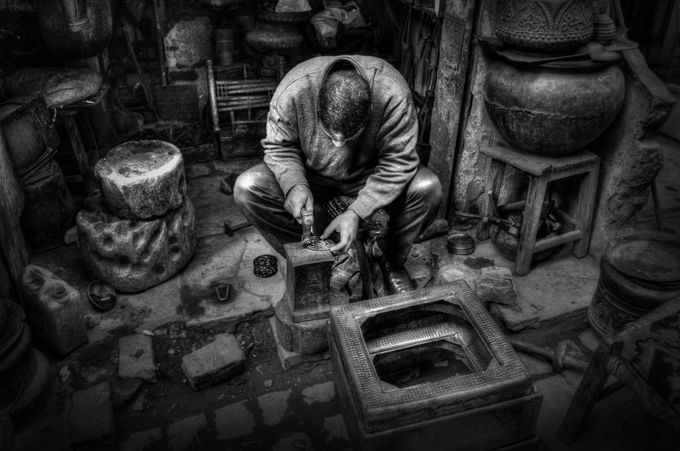 Craftsman in Cairo by olljohan - Cultures of the World Photo Contest