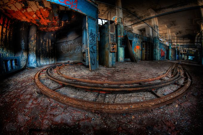 Merry Go Round by Silversldr - Twisted Lines Photo Contest