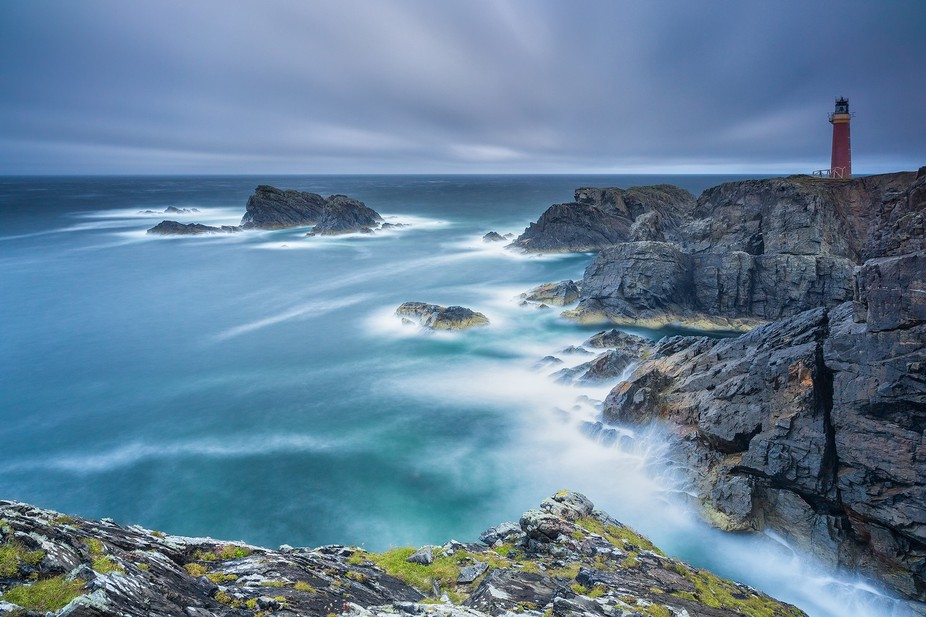 This shot was taken at the Butt of Lewis, on the Isle of Lewis, Scotland, UK. This is the result ...