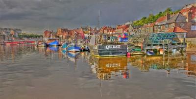 Whitby Upper Harbour @ High Tide