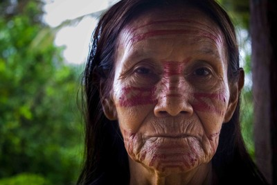 Elder woman in Jandiayacu