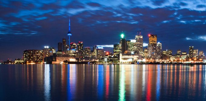 Toronto by night by ruifino - Fstoppers Volume 5 Photo Contest