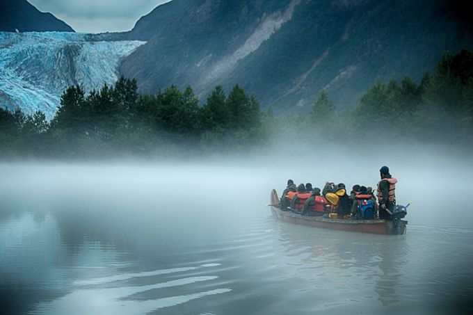 Into the fog of Davidson Glacier by brentmorris - The Tourist Photo Contest