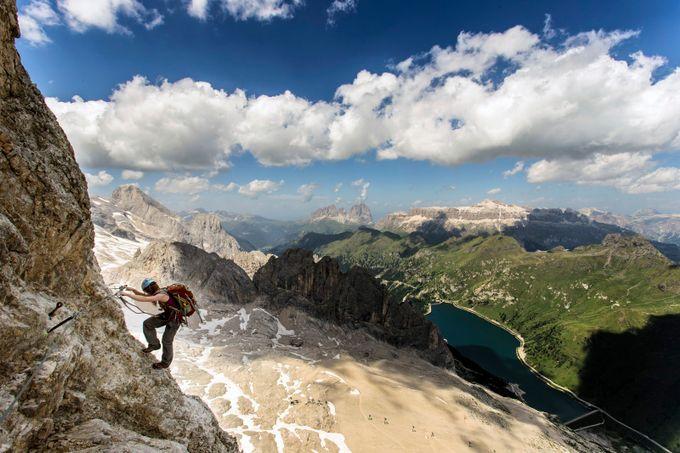 Via Ferrata Eterna Brigata / Via Eterna by jamesrushforth - Standing At The Edge Photo Contest