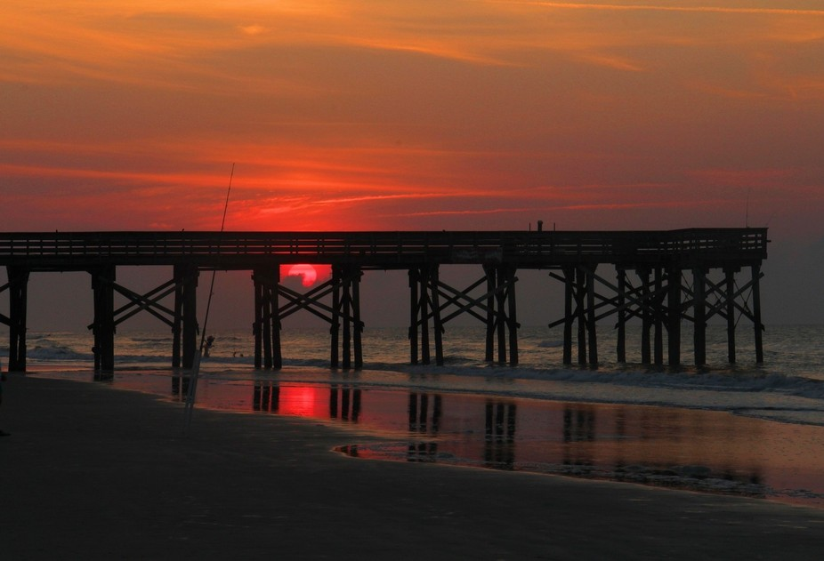 Sunrise at The Isle of Palms, SC