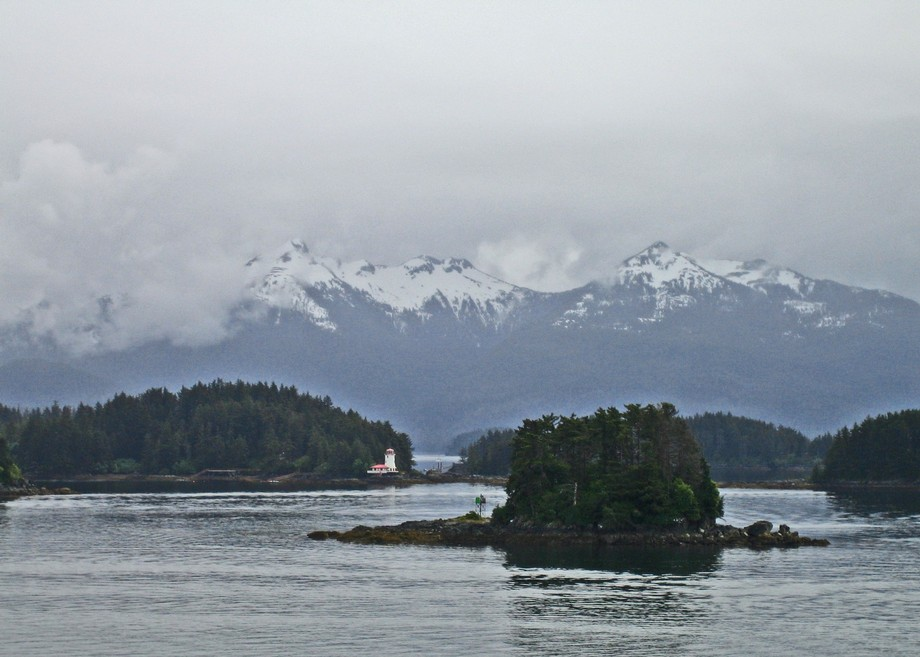 Crescent Bay, Sitka, Alaska. (Copyright, Dick Jordan,Tales Told From The Road, www.talestoldfromt...
