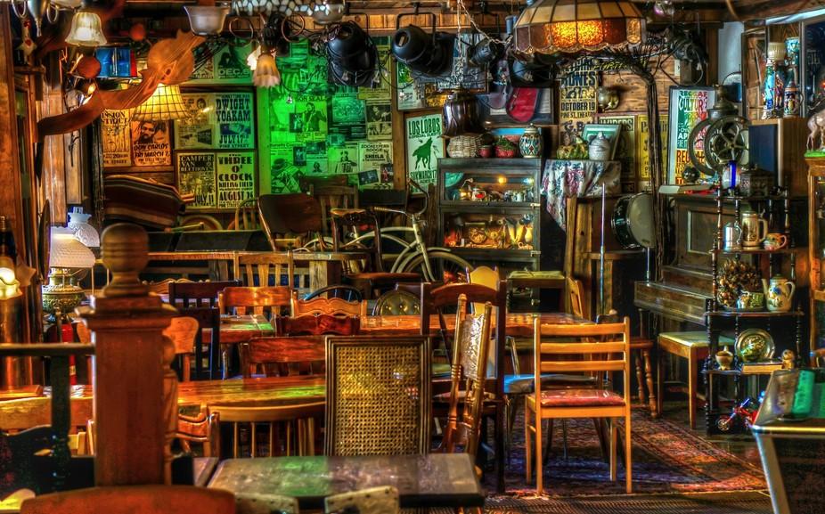 Duffy\'s Irish Pub in Grays River, Washington State.