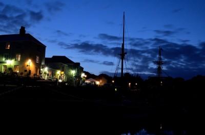 Night Lights at Charlestown