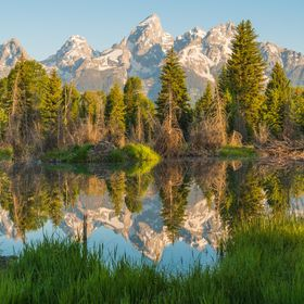 From Schwabacher Landing in Grand Teton NP, WY.