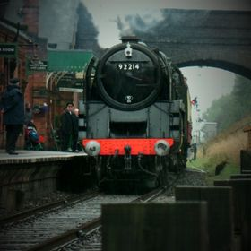 I took this photo at the Great Central Railway whilst out for the day with my little girl.