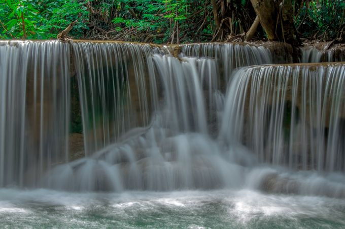 Waterfall Thailand by johngreene - Tripod Required Photo Contest