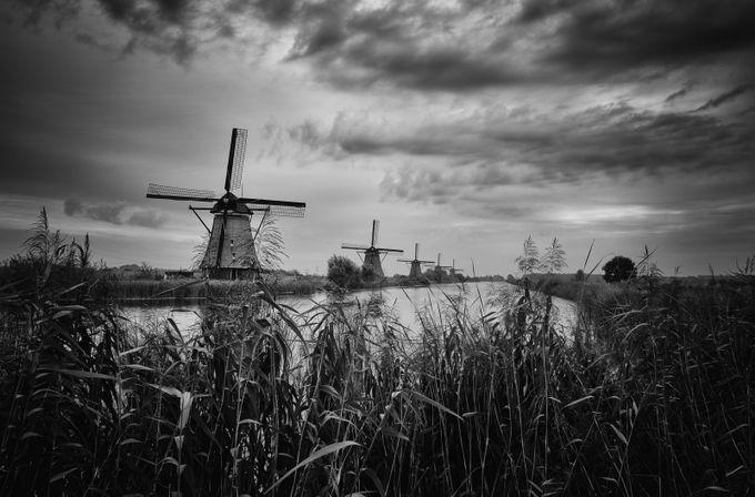 Kinderdijk, Holland by SteveCheetham - 200 Windmills Photo Contest