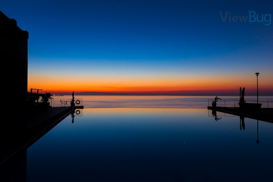 A beautiful vista of colours. Taken just before sunrise from a hotel in Sicily I was absolutely g...