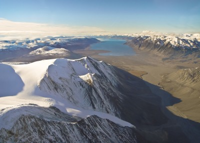 High Arctic Wilderness from Helicopter