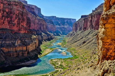 Flowing Through the Canyon